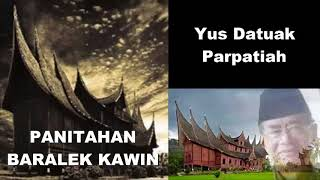 Gambar cover Panitahan Baralek Kawin ツ►  Balerong Group Yus Datuak Parpatiah