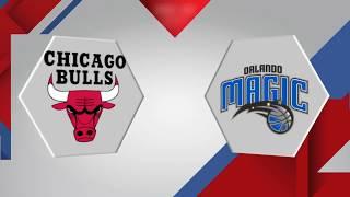 Orlando Magic vs. Chicago Bulls - December 20, 2017