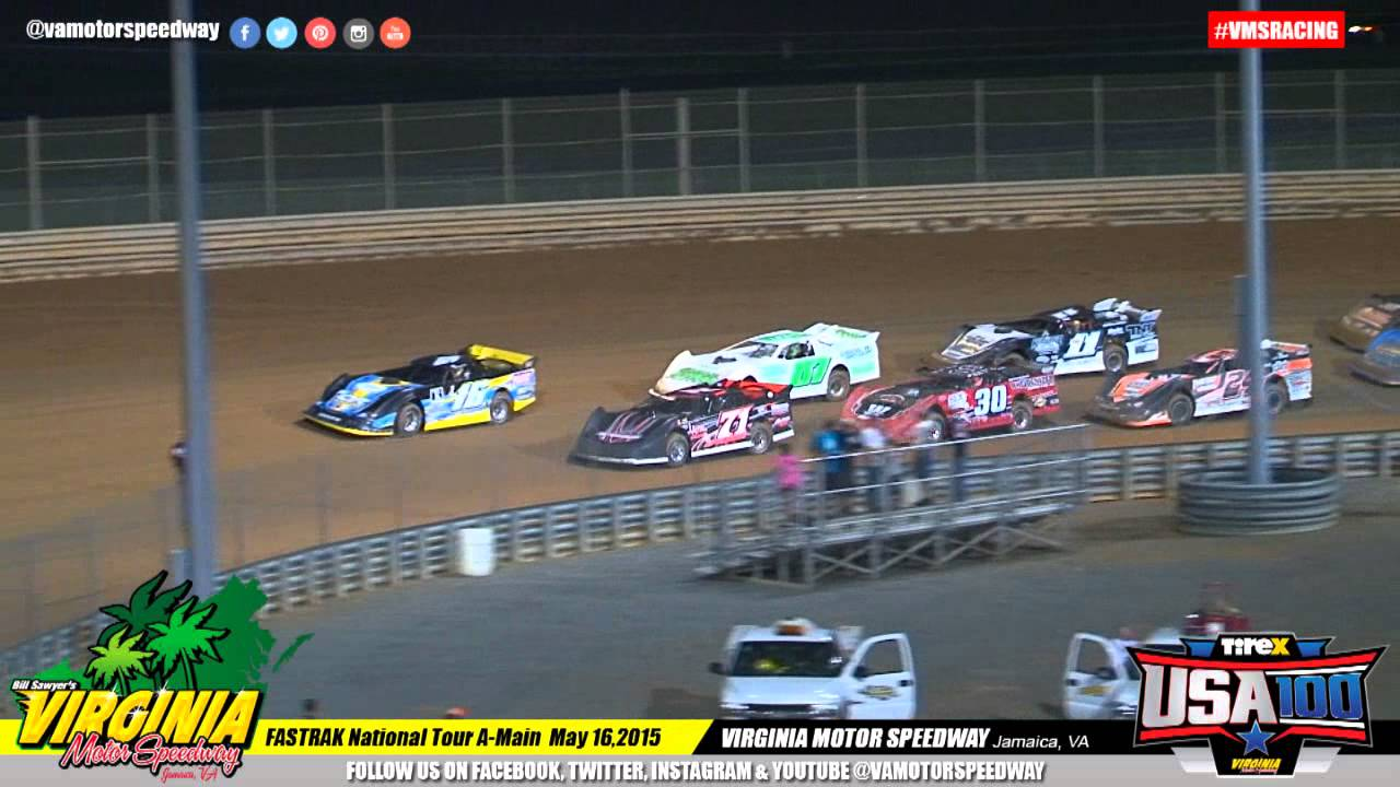 TireX USA 100 FASTRAK National Tour A Main - May 16, 2015