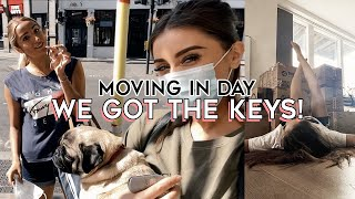 THE BIG DAY: MOVING INTO OUR DREAM APARTMENT | MOVING VLOG 2
