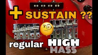 BASS BRIDGES Regular VS High Mass REVIEW, What is Best?