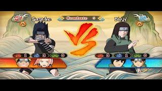 naruto shippuden ultimate ninja storm revolution sasuke vs neji