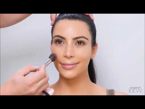 Kim Kardashian | The Perfect Makeup Routine | Complete Foundation, Contour, And Highlight Tutorial