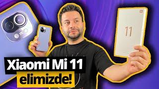 Xiaomi Mi 11 kutudan çıkıyor! 🔥 Snapdragon 888'li acil video (Türkiye'de ilk!)