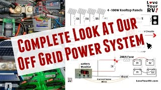 Our DIY RV Boondocking Power System - Complete Overview
