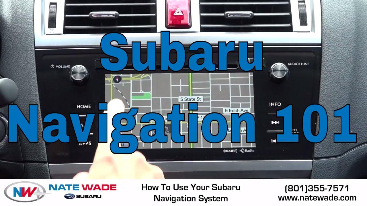 2015 subaru legacy navigation system