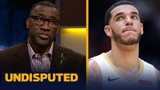 Pelicans benching Lonzo Ball in crunch time is 'not a good sign' - Shannon Sharpe | NBA | UNDISPUTED