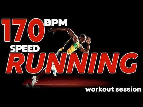 Speed Running 170 Bpm Session ( Non-Stop Mixed Compilation for Fitness And Workout @170 Bpm)