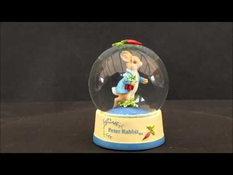 Beatrix Potter Peter Rabbit Waterball - World of Beatrix Potter A26011