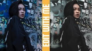 EDIT WITH ME Ep. 3 -  Urban Faded Look | Adobe Lightroom