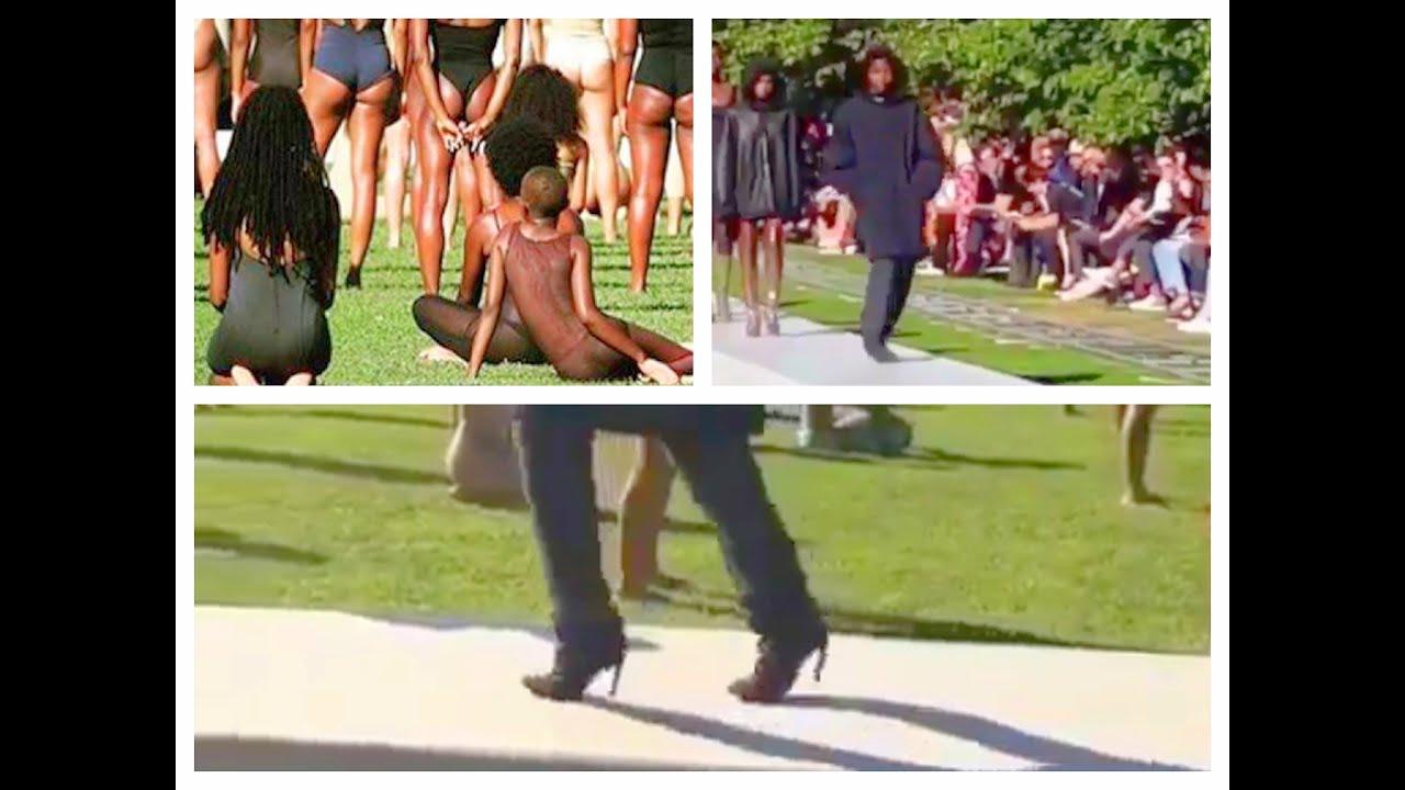 Yeezy Fashion Show Island