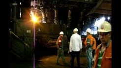 ArcelorMittal: 26-07-2012 Rallumage symbolique du haut-fourneau d'Hayange