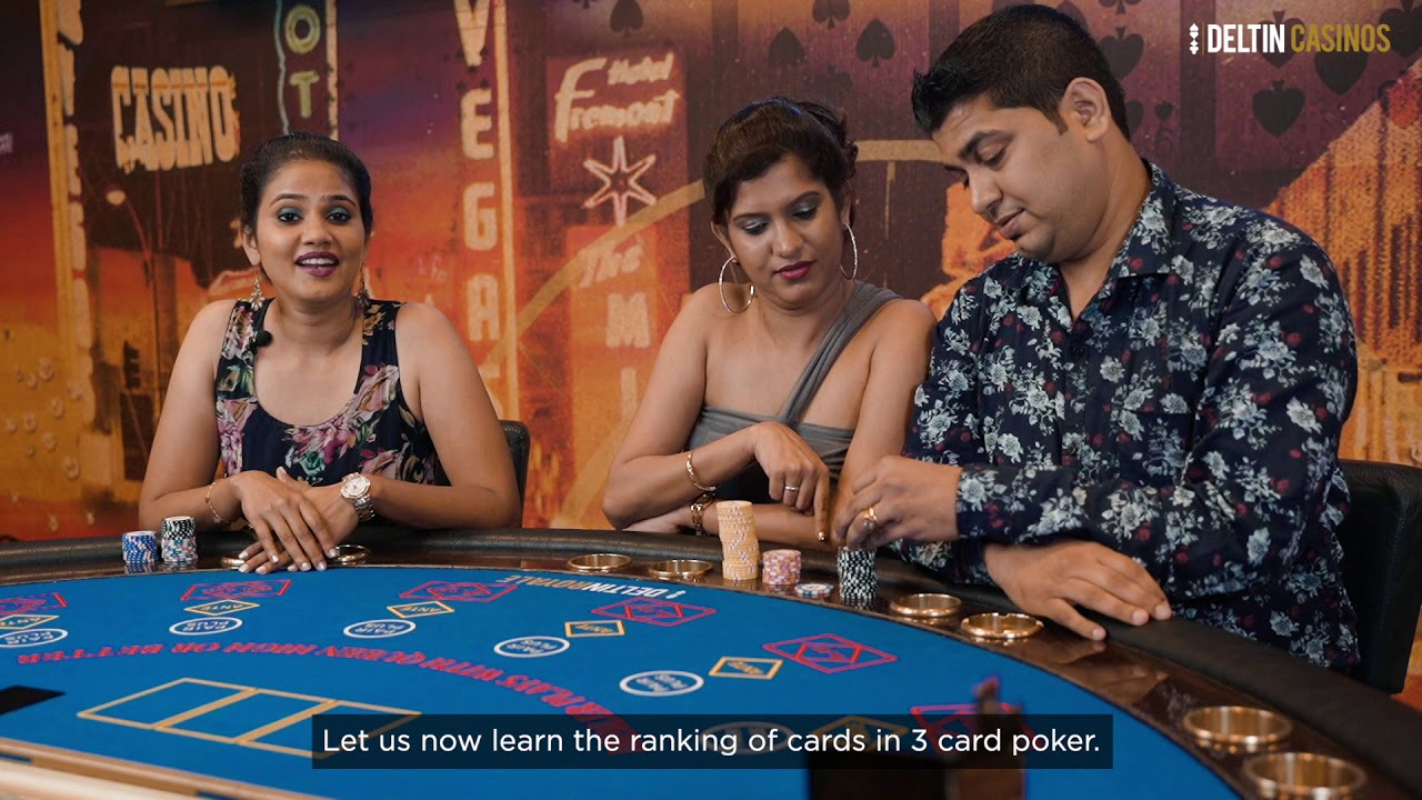 3 Card Poker | Deltin Casino Game Goa