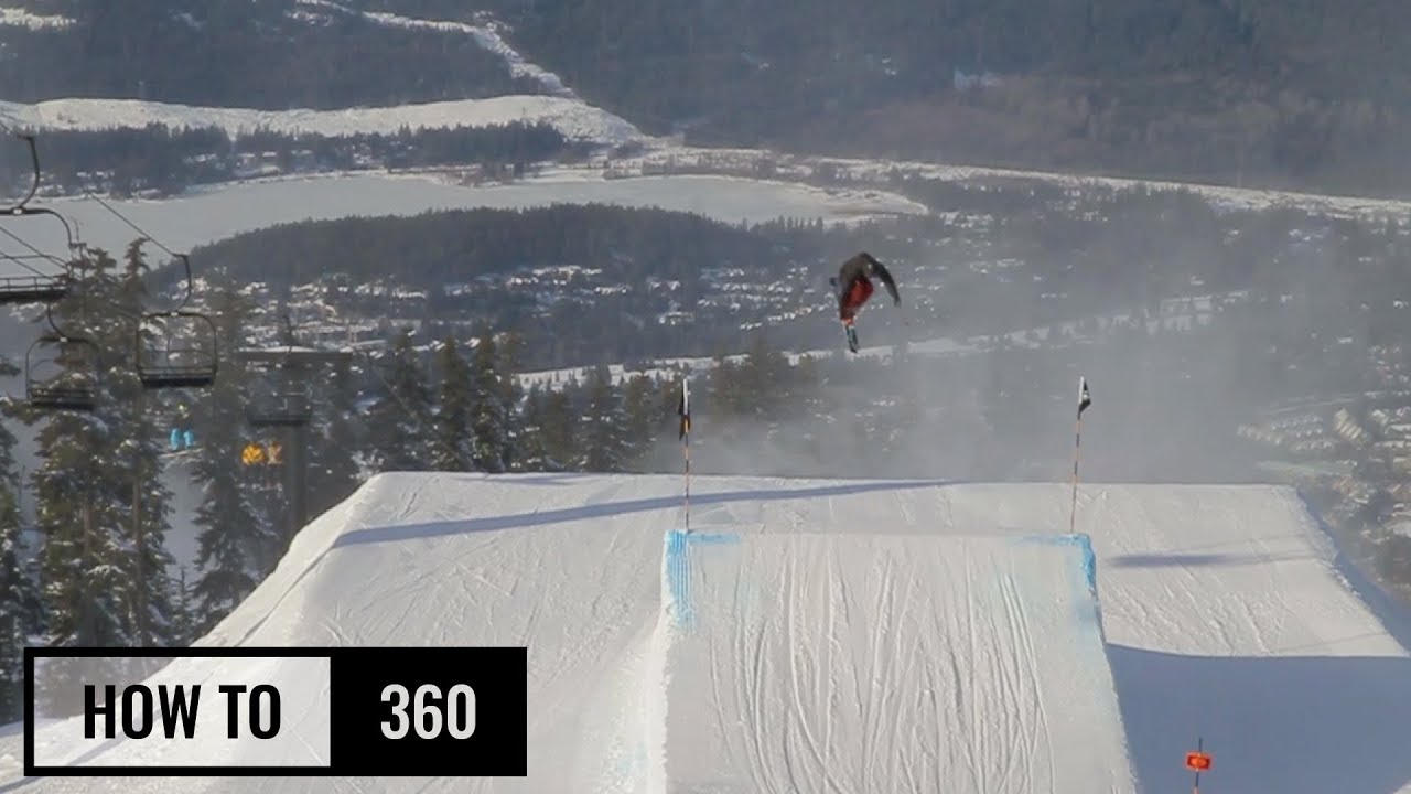 How To 360 On Skis