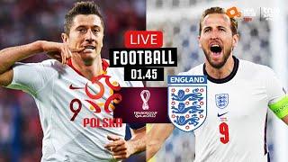 🔴 LIVE FOOTBALL : โปแลนด์ 1-1 อังกฤษ ฟุตบอลโลก 2022 รอบคัดเลือก โซนยุโรป พากย์ไทย 8-9-64