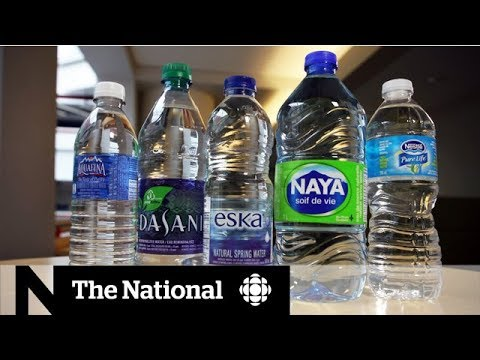 Microplastics Found In Some Canadian Bottled Water