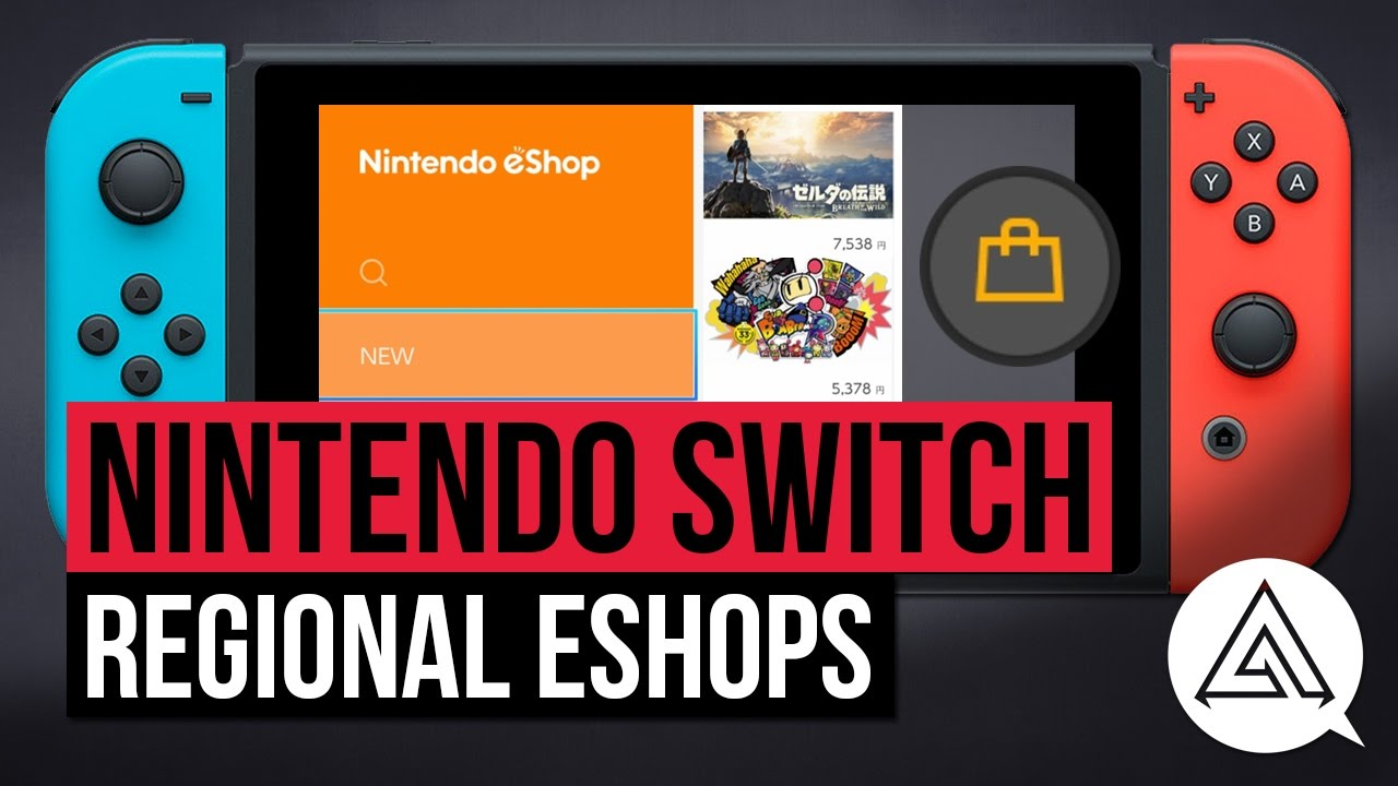 Nintendo Switch How To Access Different Regional EShops US - Us zip code nintendo