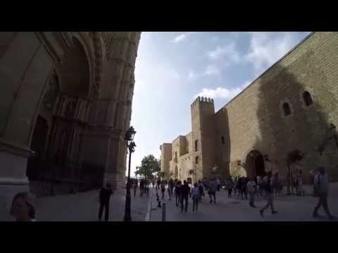 Binaural Soundscape Walk around La Almudaina Palace, Palma, Mallorca