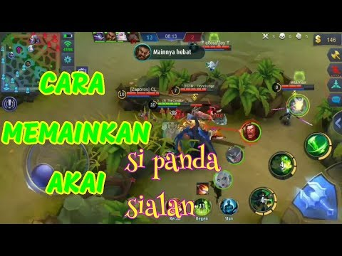 TUTORIAL AKAI PANDA SIALAN!!! BUILD ITEM DAN CARA MAIN