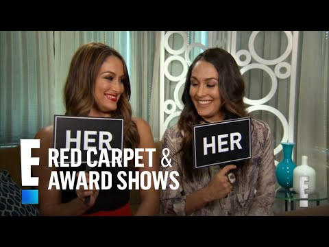 The Bella Twins Play  Brie or Nikki  Game | E! Red Carpet & Award Shows