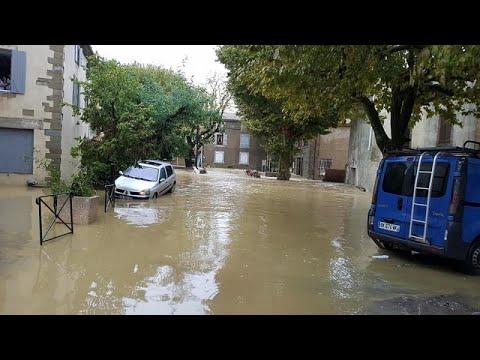شاهد: سيول غير مسبوقة جنوب فرنسا هي الأسوأ منذ مئة عام!  - نشر قبل 57 دقيقة