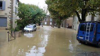 شاهد: سيول غير مسبوقة جنوب فرنسا هي الأسوأ منذ مئة عام!