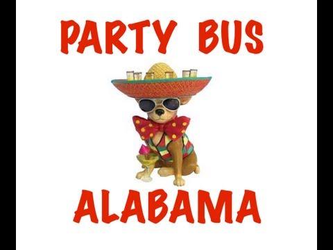 Party Bus Rental in Alabama - Birmingham, Montgomery, Mobile, Huntsville, Tuscaloosa