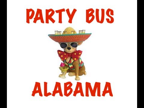 Party Bus Rental in Alabama - Birmingham, Montgomery, Mobile, Huntsville, Tuscaloosa