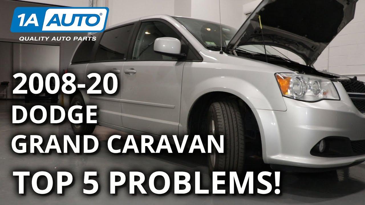 dodge grand caravan issues Top 2 Problems Dodge Grand Caravan Minivan 2th Generation 2-2