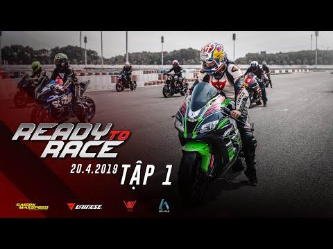 READY TO RACE - TẬP 1 - CUỘC ĐUA BẮT ĐẦU   VINHPHAN07 , KIT Z900 , CALL ME KIMMIE , TRẦN TUẤN LƯƠNG