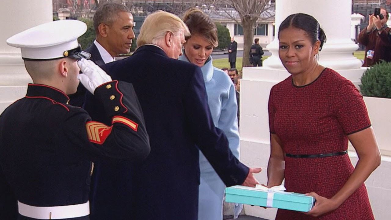 Michelle Obama's inauguration outfit lights up social media