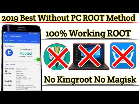 How To 100% Root any Android Device Without PC   2019 Best