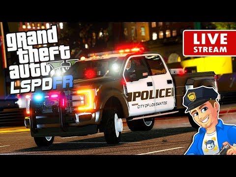 GTA 5 LSPDFR CITY PATROL LIVE F450 King of Trucks | GTA 5 LSPDFR Police Mod  Realistic Police Patrol