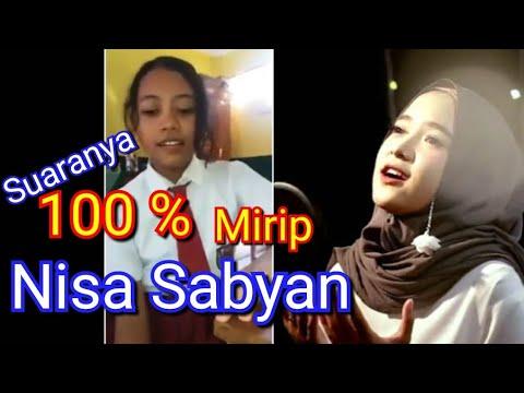 Lagi Viral!! Anak SD ini suaranya mirip banget Nisa Sabyan ~ nyanyi Deen Assalam