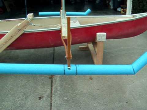Homemade Sail Rig for Canoe