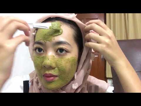 Face Mask Organic 'Green Tea' | Skin Care Routine | Nona Yua
