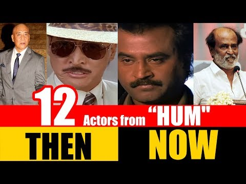 "12 Bollywood Actors from ""HUM"" 1991 