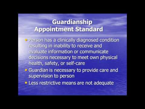 Guardianship and the Alternatives