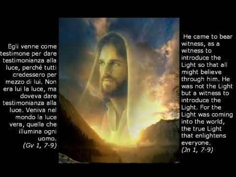 La Parola incarnata in Gesù