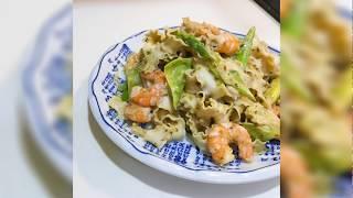 【全聯出好菜】青醬鮮蝦拌麵 義大利麵輕鬆在家做 快速又美味 #2