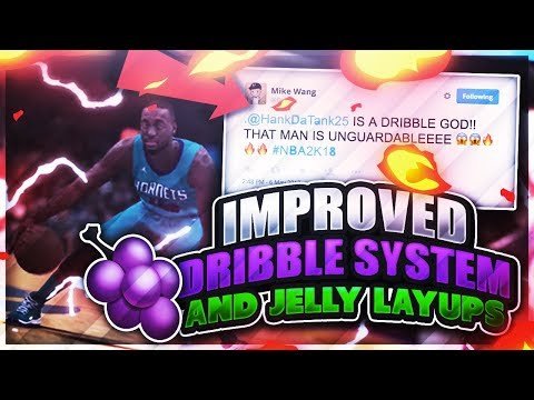 NEW DRIBBLE MOVES UNLOCKED IN NBA 2K18 + JELLY LAYUPS • OMG MIKE WANG CALLED ME A DRIBBLE GAWD 😱😱