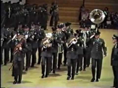 United States Army Band at Ft.Dix basic training graduation.