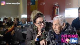 LAURA ZAPATA LE TIRA AL PRESIDENTE INCLUSO EN CUMPLEAÑOS DE SU ABUELITA DE 102 AÑOS - CNL