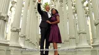 Obama Gangnam Style! Reggie Brown The World's Best Obama Impersonator thumbnail