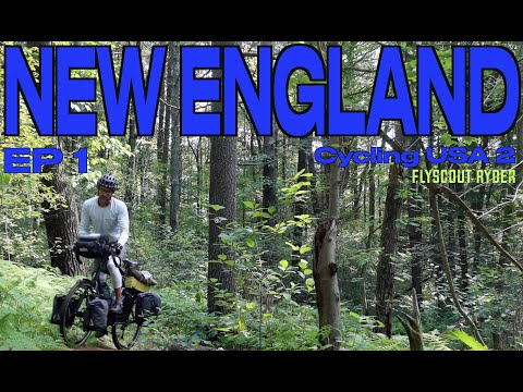 NEW ENGLAND - Cycling USA 2 (Ep1) - Bicycle Touring Documentary - The start of a new summer. thumbnail