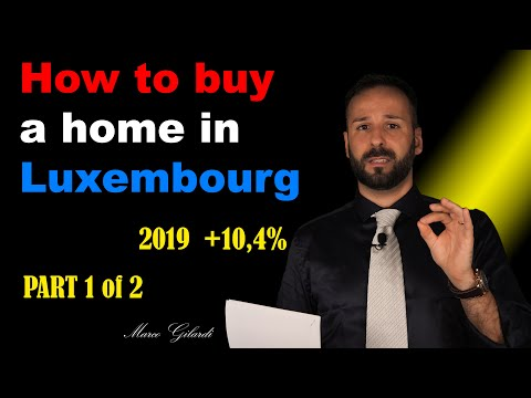 Marco Gilardi   Video#17   How to buy a home in Luxembourg Part 1of 2