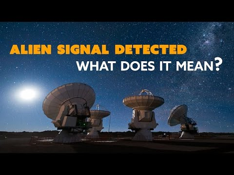 ALIEN SIGNAL Detected: What Does It Mean? - The Know Science News