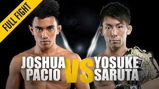 Joshua Pacio vs. Yosuke Saruta 2 | ONE: Full Fight | Redemption Day | April 2019