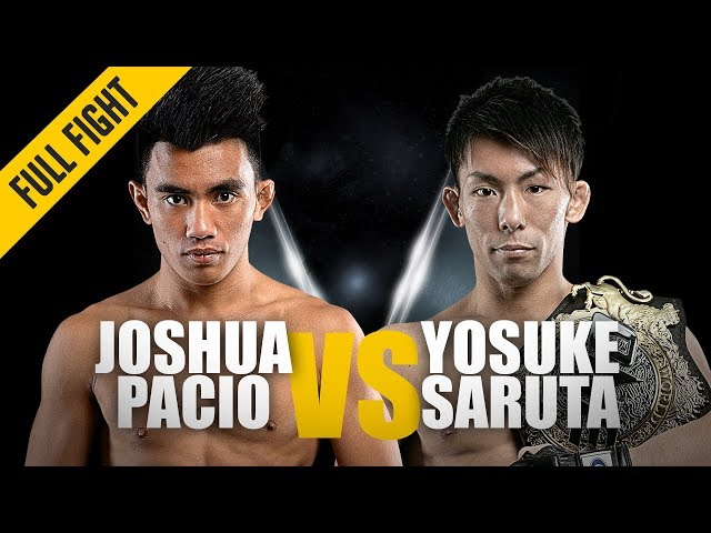 Joshua Pacio vs. Yosuke Saruta 2 | ONE: Full Fight | Redemption Day | April 2019