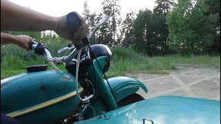 Ремонт зажигания на мотоцикле Урал,первый пуск ! thumbnail